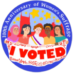 Nashville releases new 'I Voted' sticker in honor of Women's Suffrage 100th anniversary – NewsChannel5.com